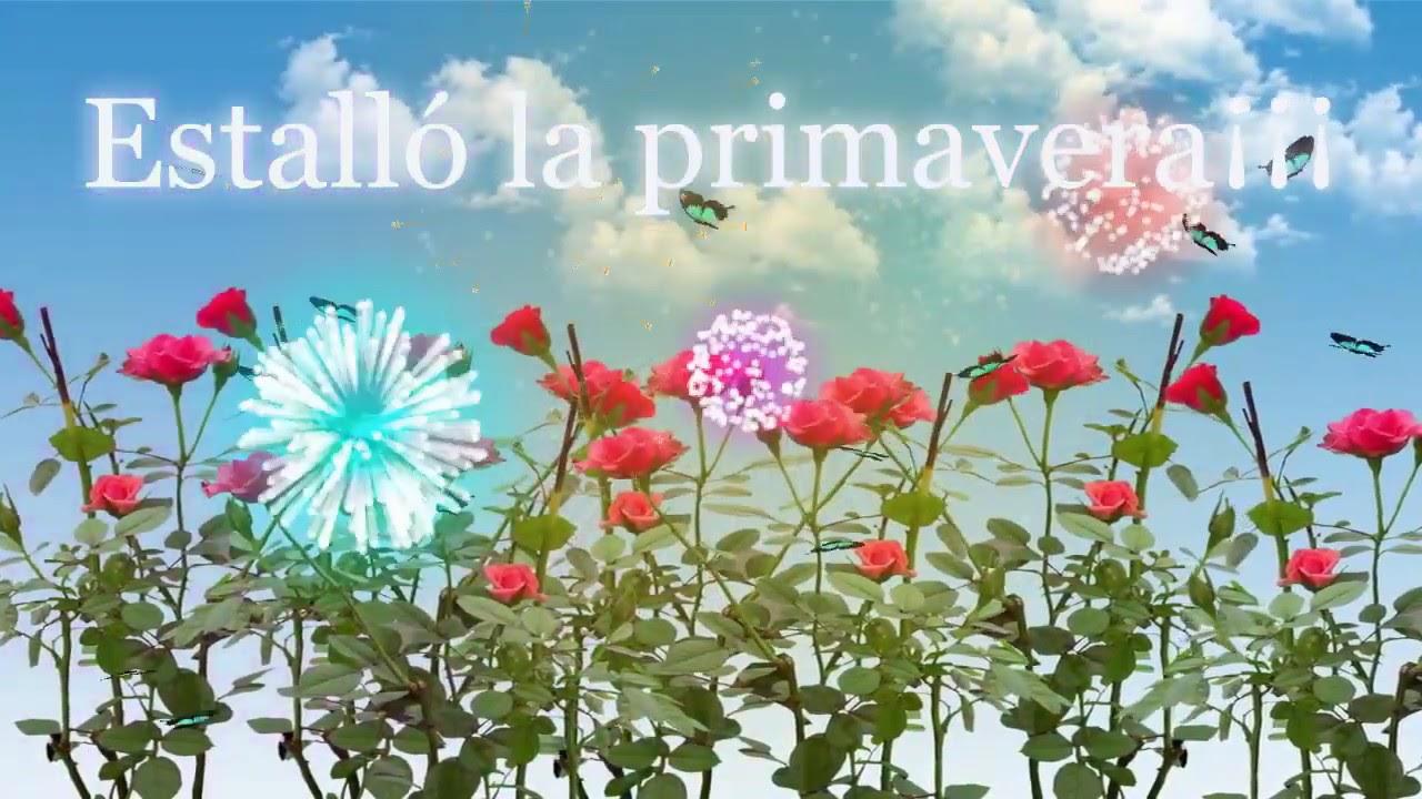 Feliz Día De La Primavera 21 De Setiembre De 2019 Feliz