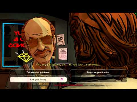 The Wolf Among Us The Lucky Pawn and Jersey Devil Fight