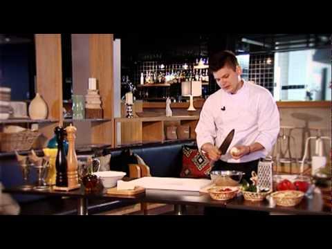 Салат Шопский - мастер-класс от шеф-повара ресторана PUBLIC Александра Морозова