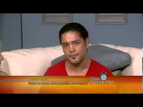 Chris Perez en Alegre Despertar