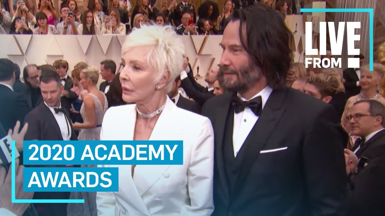 Keanu Reeves brought his mom to the Oscars as his date and ...