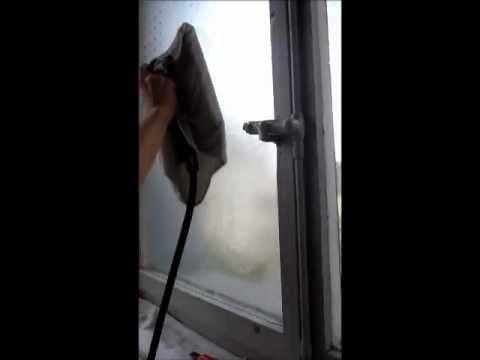 Super Fensterfolien entfernen / Selbstklebefolien entfernen mit Dampf TM47