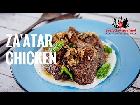 Za'atar Chicken | Everyday Gourmet S7 E28