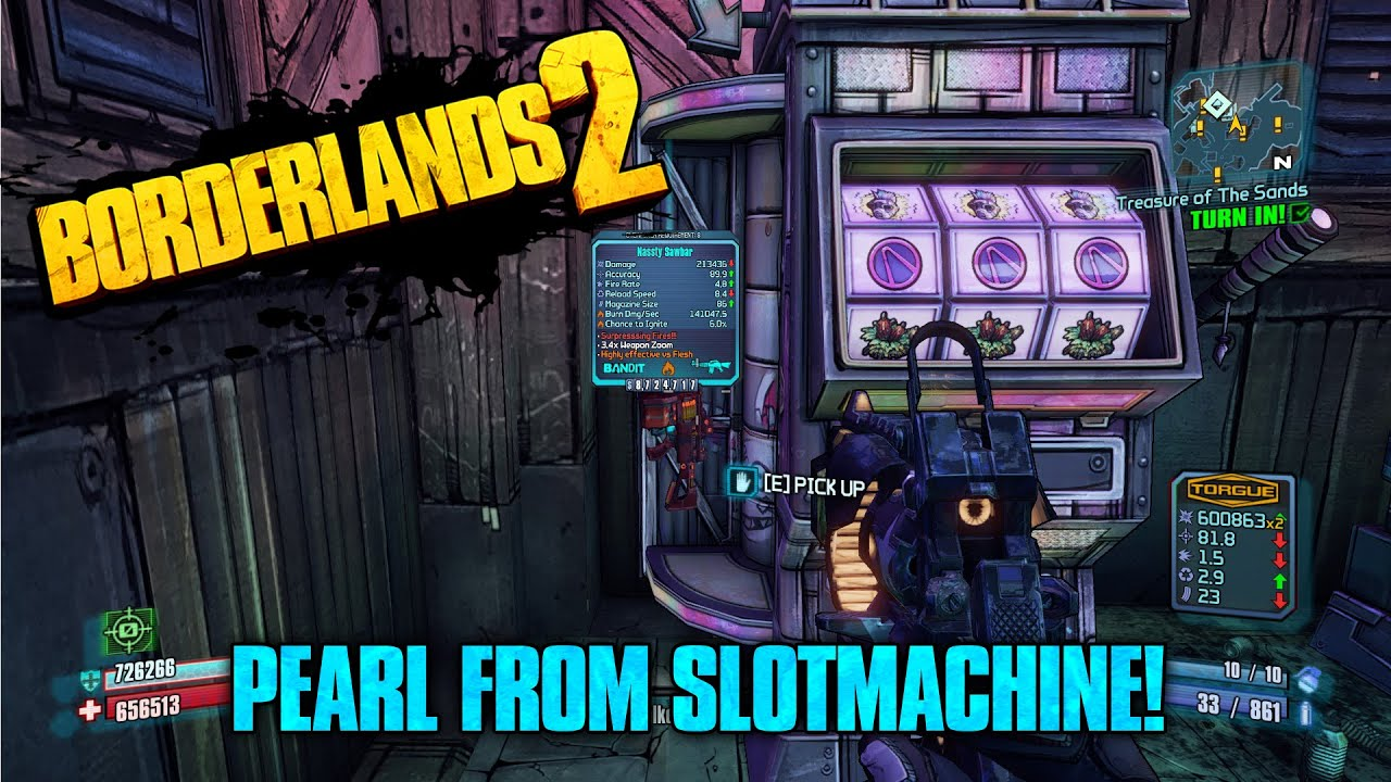 Borderlands pre sequel slot machine hack