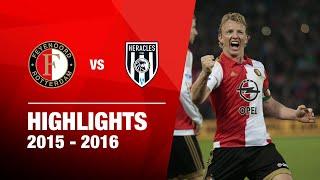 Samenvatting Feyenoord - Heracles Almelo 2015-2016