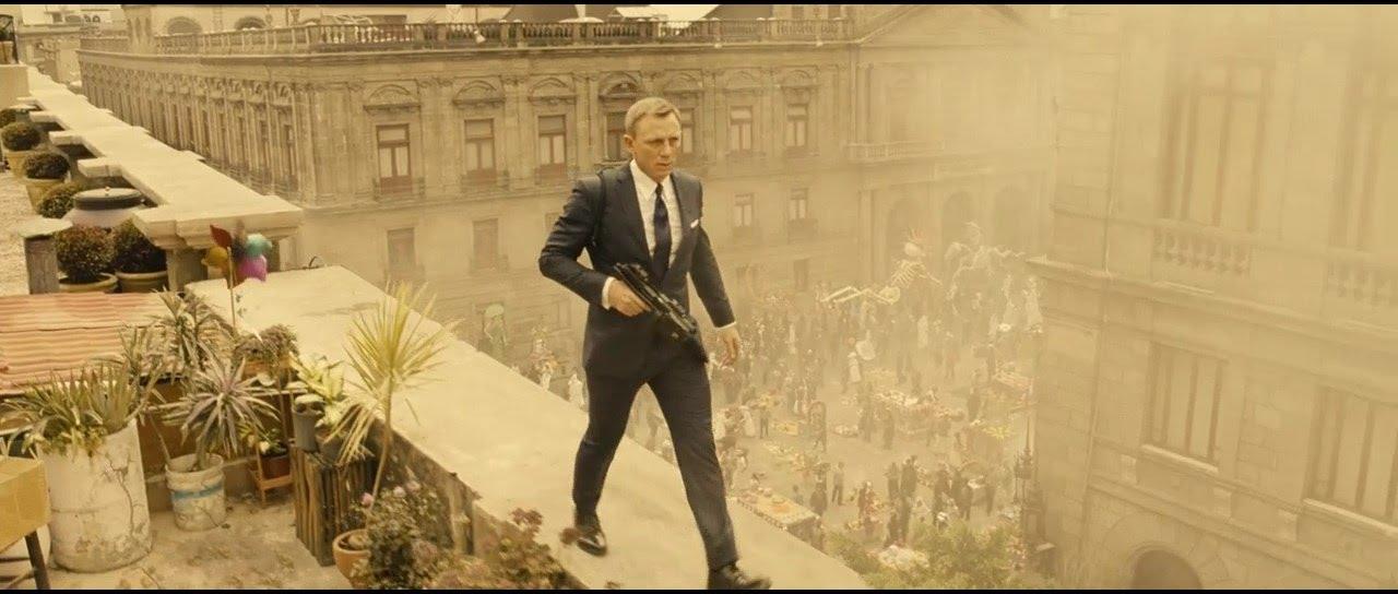 007 Spectre 2015 Le Jour Des Morts Scène Douverture