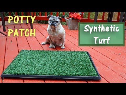 Pet Potty Patch🐶Dog Training Pad⭐Synturfmats|Artificial Turf Mat 👈