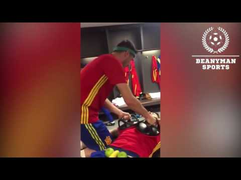 Spain National Team Do The Mannequin Challenge After Playing England! MannequinChallenge