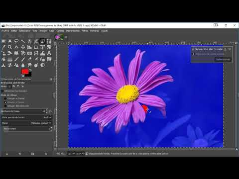 07.8.2 Tutorial de Gimp 2.10 Selección de primer plano thumbnail