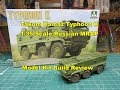 Takom 1/35 Kamaz Typhoon K Russian MRAP Model Kit Build Review 2082