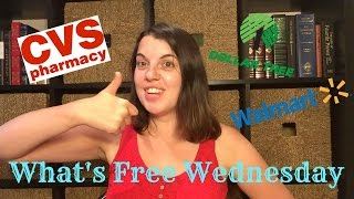 What's Free Wednesday 9/9/15