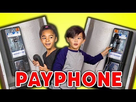 KIDS REACT TO PAYPHONES