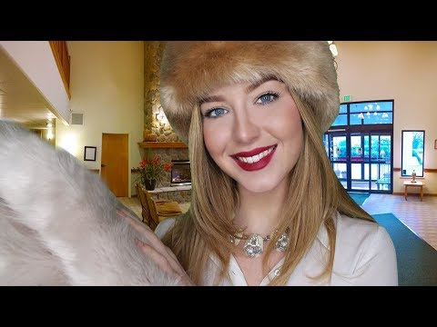 [ASMR] Winter Luxury Hotel & Spa Check In Roleplay