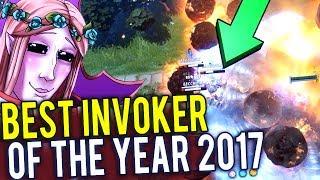 Best Invoker of the Year - 2017   Dota 2