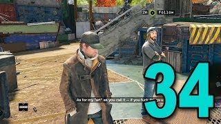 Watch Dogs - Part 34 - A New Friend (Let
