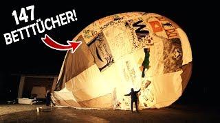 Unser riesiger COMMUNITY - BALLON ist fertig! | Der erste TEST mit dem Betttuchballon #3