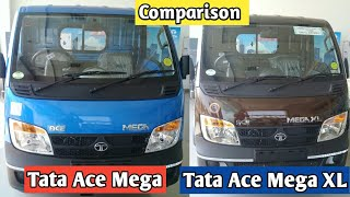 Tata Ace Mega 2019 vs Tata Ace Mega XL 2019 Full Detail Comparison Price Millage Payloa ...