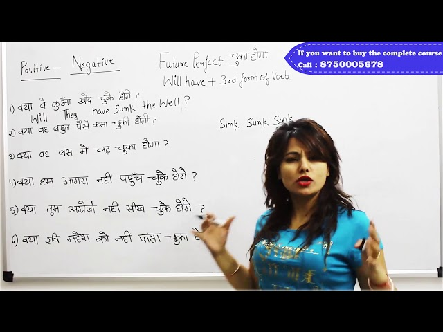 Future Perfect Interrogative +ve Sentences - Learn with Preety Uzlain