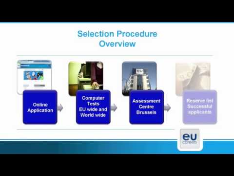 Video: Career opportunities with the European Institutions EU JOBS Stellenangebote