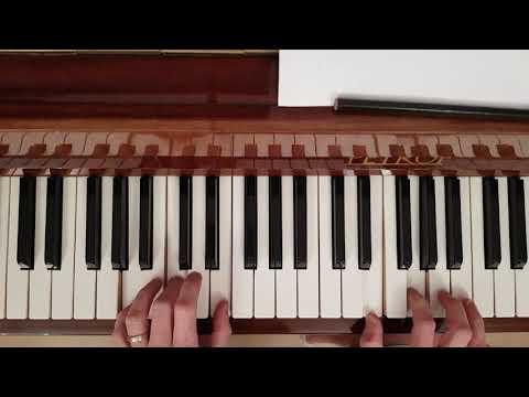 Hej sokoly - klavir