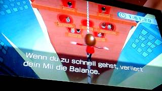 world record with video proof: WII Fit Plus - Tight Rope Beginner in 24,78 sec.