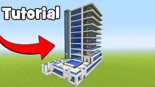 Minecraft tuto hotel