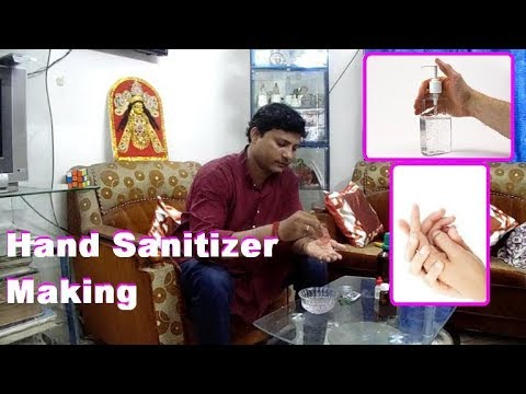 How To Make Hand Sanitizer How To Make Liquid Hand Sanitizer Hand