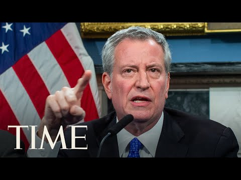 New York Mayor Bill de Blasio Holds A Media Briefing on COVID-19 | LIVE | TIME
