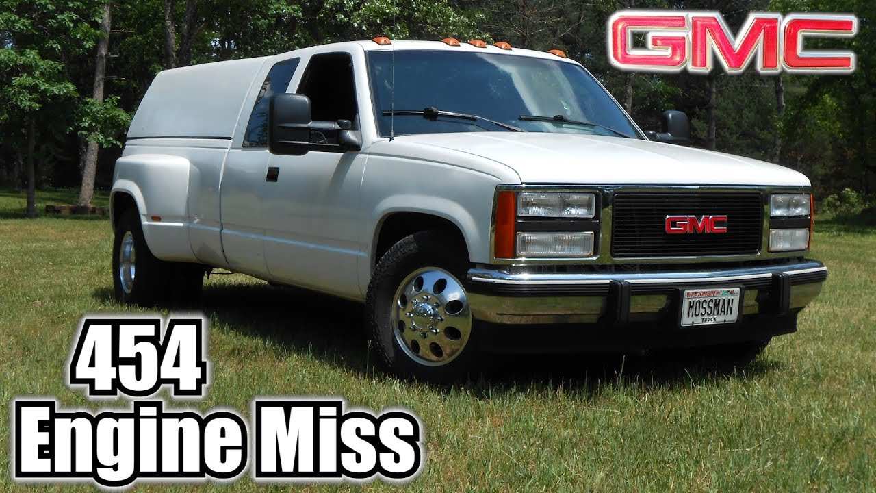 91 GMC C3500 454 TBI Engine Miss & Timing Check