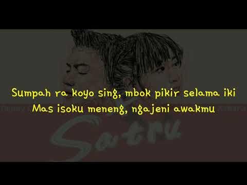 satru denny caknan x happy asmara lirik