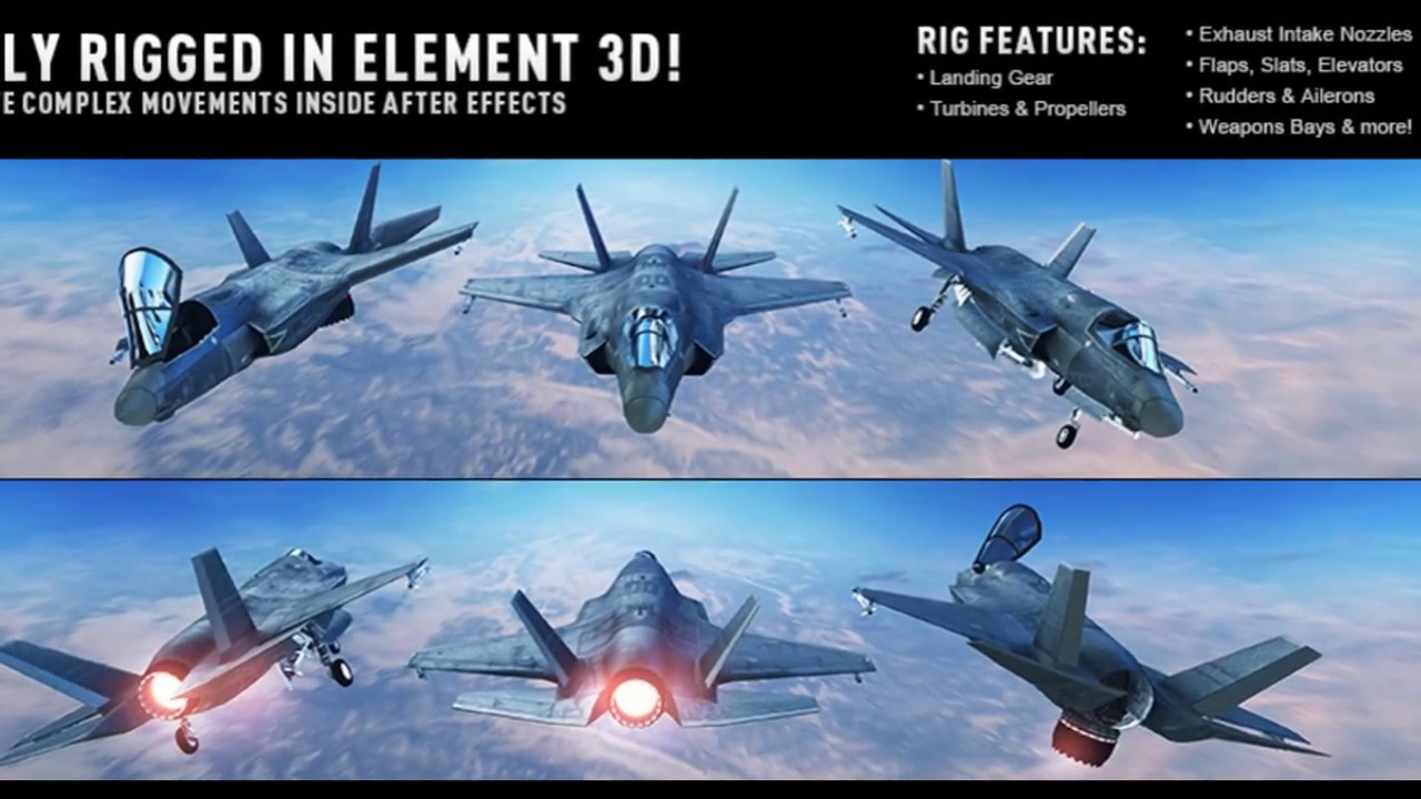 Download and Instal JetStrike 3D Pack full - test jetstrike element 3d pack  + free download link