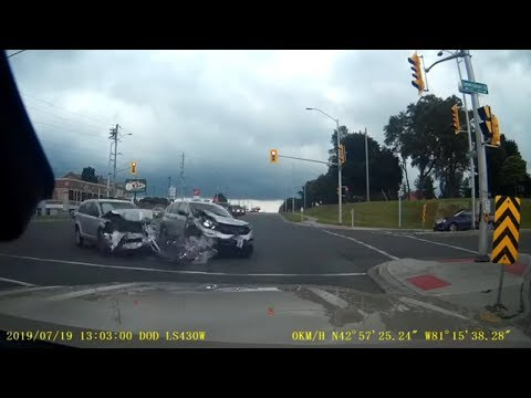 Unbelievable Car Collision Compilation - Craziest Driving Fails Of 2019 (Part 23)