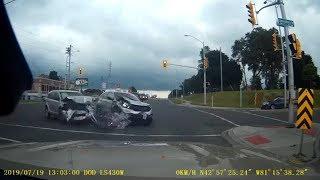 Unbelievable Car Collision Compilation - Craziest Driving Fails Of 2019 (Part 23)