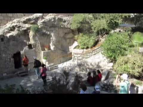 The Garden Tomb, the tomb of Jesus, Jerusalem