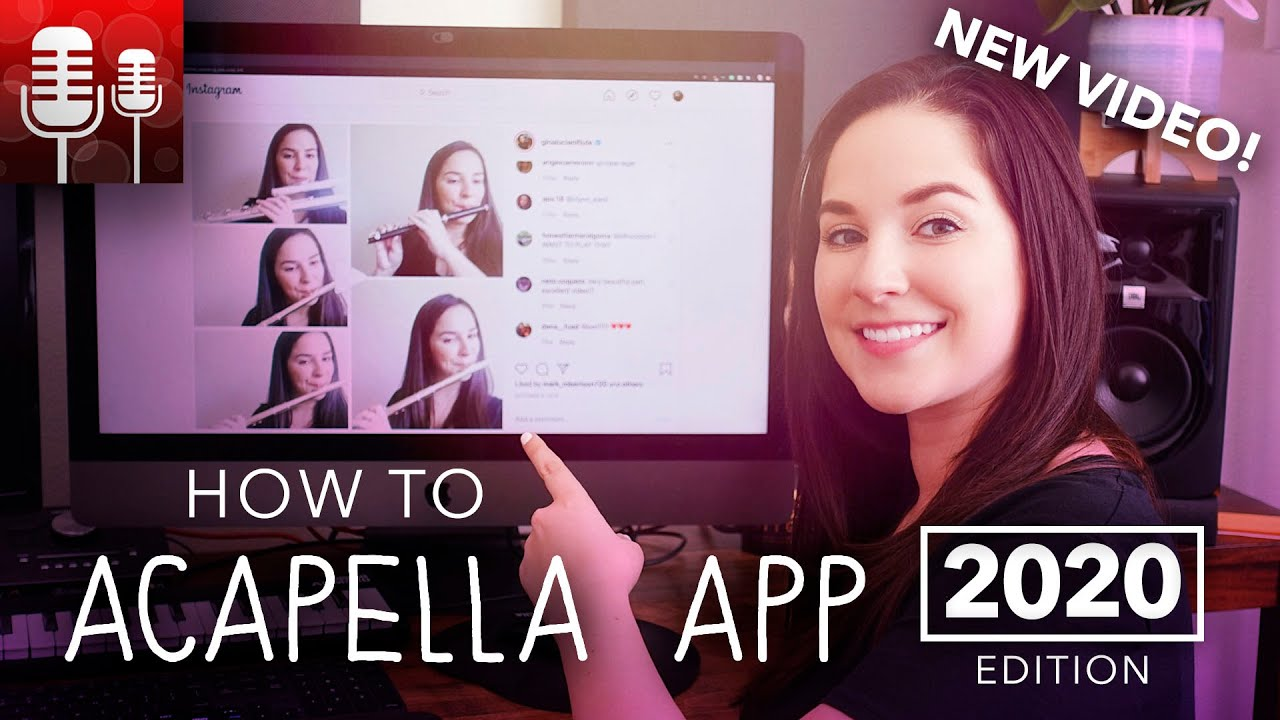 How To Use The Acapella App Youtube