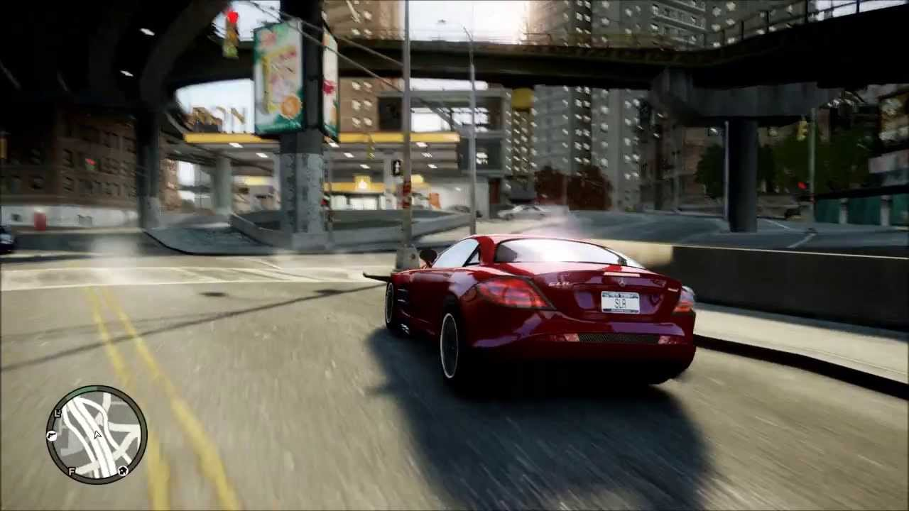 GTA IV Realistic Gameplay Graphics Mod 2013 - YouTube
