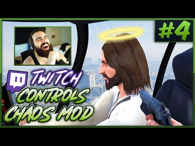 Twitch Controls GTA V Chaos! (Chat Randomly Mods The Game) #4