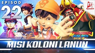 BoBoiBoy Galaxy EP22 | Misi Koloni Lanun - (ENG Subtitle)