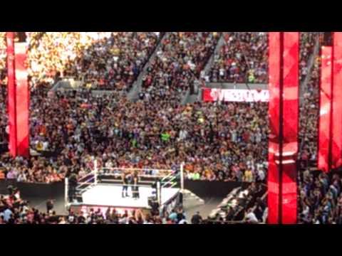 Wrestlemania 31: Rock and Rhonda part1