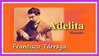 Аделита.Ф.Таррега.Valery Dzyabenko.(mazurka).F.Tarrega.Adelita.Guitarra española.Bailes españoles.