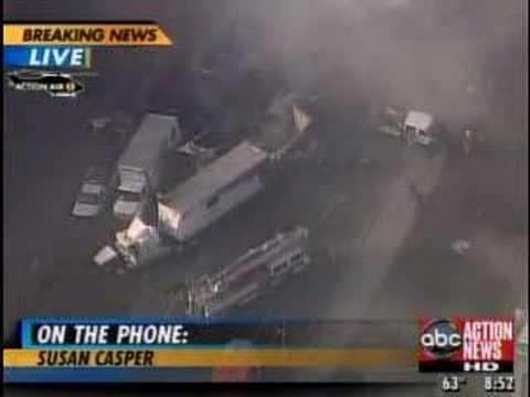 50 To 100 Vehicle Crash I-4 Lakeland Florida Polk County