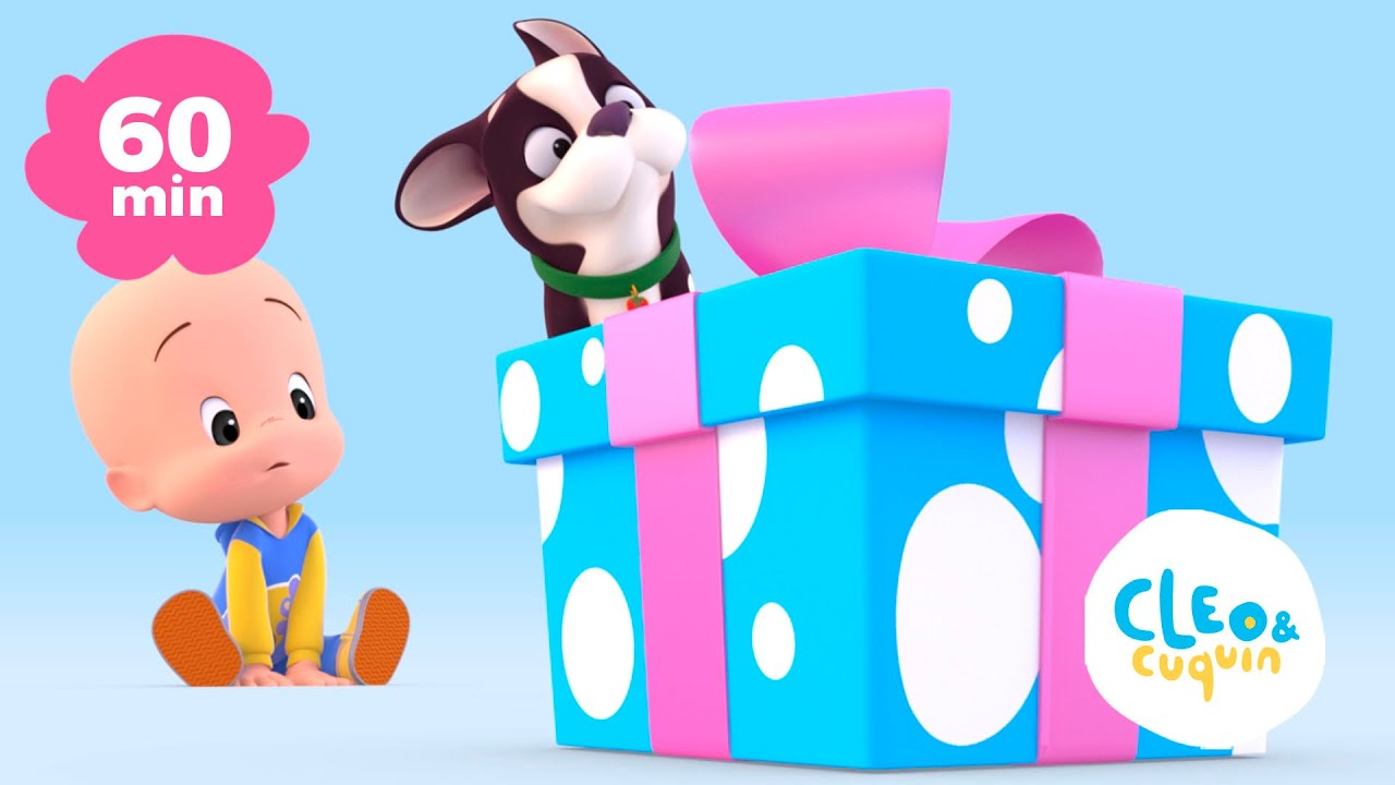 Download Cuquin's Balloons and more learning videos of Cleo and Cuquin | Songs for kids