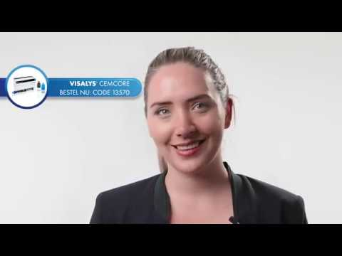 Digital Together Visalys® CemCore - step by step in 3 minuten