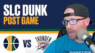 NBA Playoffs: Utah Jazz vs Oklahoma City Thunder: Game 1 Reaction - Paul George 36 points!!!