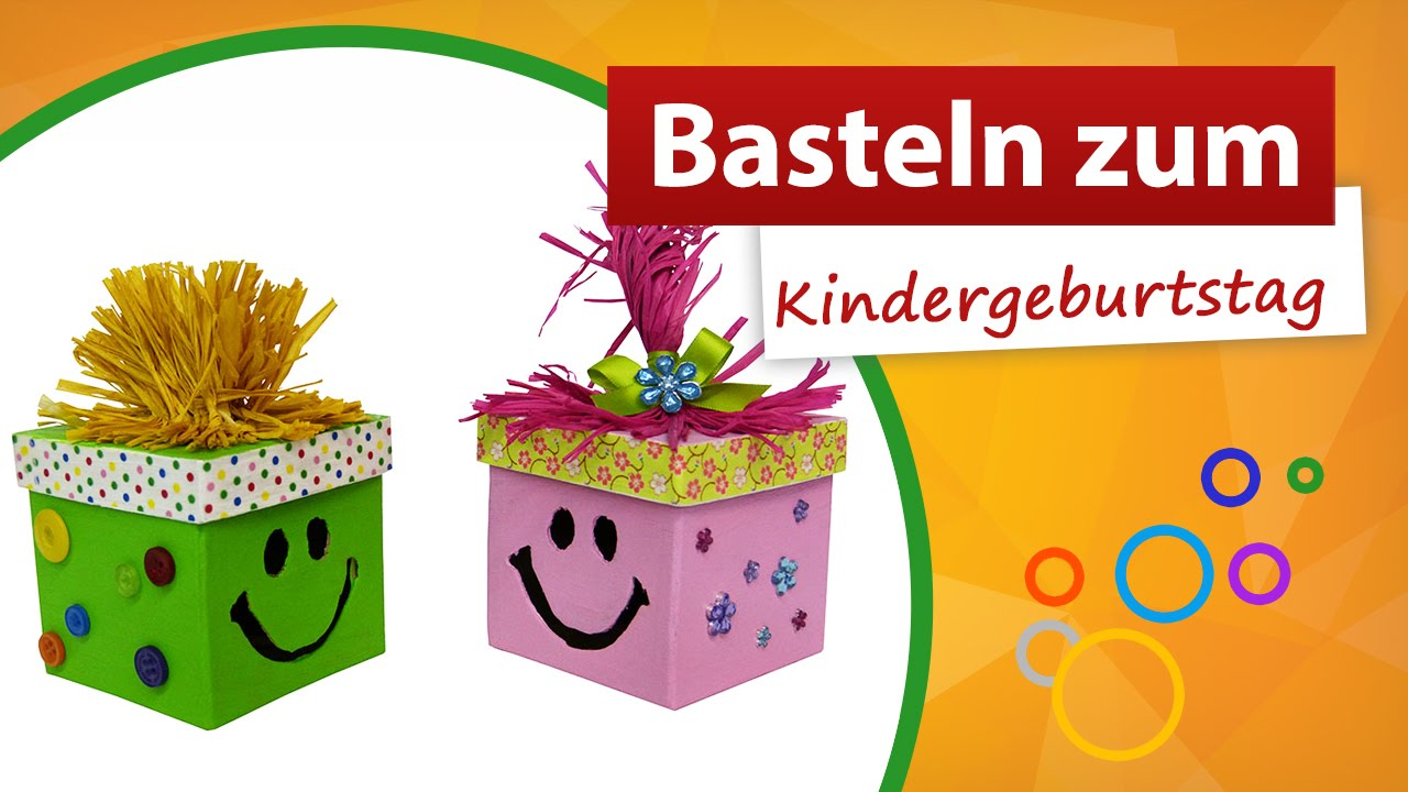 basteln zum kindergeburtstag trendmarkt24 bastelshop youtube. Black Bedroom Furniture Sets. Home Design Ideas