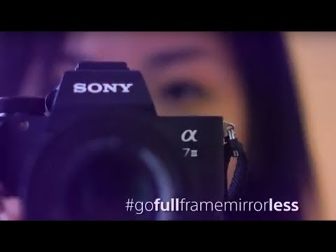 Travel full and carry less with Sony's Full Frame Mirrorless - 50s