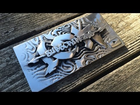 Casting an Aluminum Sign, Sand Molding and Polishing  | 10K Part 2