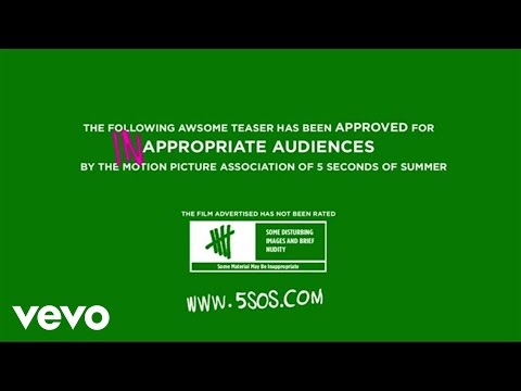5 Seconds of Summer - She Looks So Perfect (Teaser 2)