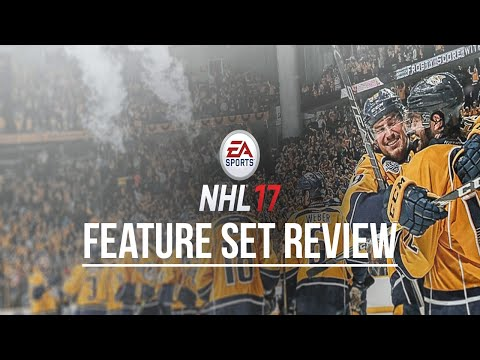 NHL 17 NEW FEATURES AND GAME MODES REVIEW