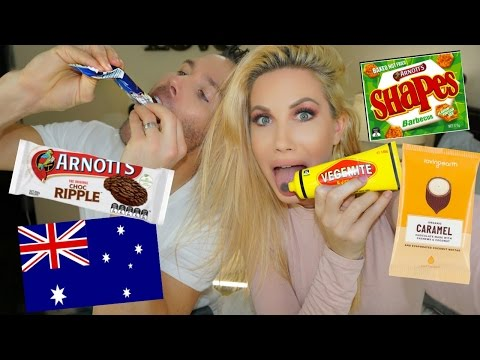 AMERICANS TRY AUSTRALIAN CANDY